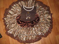 леопардовый нарядик юбочка