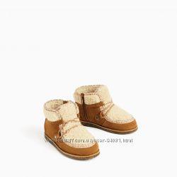 замшеві черевики Zara 22р в наявності