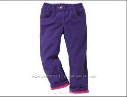 Термо брюки флис для девочек Lupilu Германия р86,98, 104