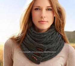 Красивые шарфы немецкого бренда ТСМ Tchibo