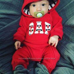 Комбинезон флисовый GAP с Америки комбінезон новорожденному 0-4 месяца 3-6