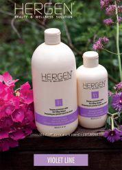 BES HERGEN Violet Line Итал. косметика. Линия против выпадения волос