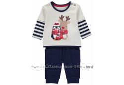 Новый детский костюмчик, комплект, Англия, 3-6 месяцев, достойный подарок