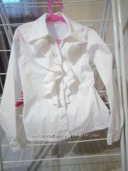 Белая блузка Sasha 128-134