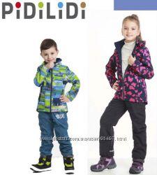 Распродажа деми куртки PIDILIDI 134, 140, 146, 152, 158 софтшел, качество,