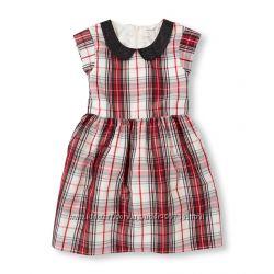 Нарядное платье от Childrens place. Все размеры от 5 до 14лет