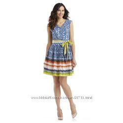 Красивое летнее платье из США фирмы Amanda Lane. Размеры  - 6р, 8р, 10р