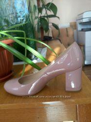 Туфли цвета нюд, пудровые Braska