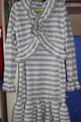BENETTON  платье , болеро, комплект новый  возраст  12 лет XL