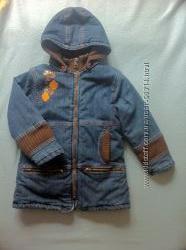 Стильная куртка Оранжевый Верблюд девочке, 116р, состояние отличное