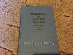 Deskbook of Correct English Michael West, P. F. Kimber