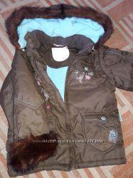 Курточка зимняя MARIQUITA с мехом сурка