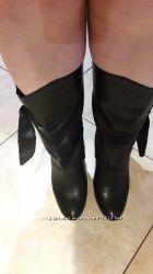 Отличные кожаные ботиночки, можно на широкую голень
