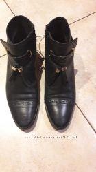 Кожаные ботиночки Оксфорд от Pull&bear