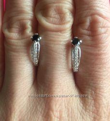 Серебряные серьги со скидкой -20