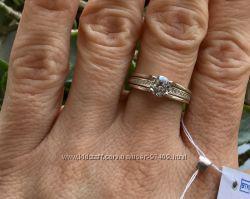 Стильное серебряное кольцо. Р. 16 и 16. 5