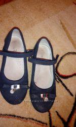 Туфли синие 30р
