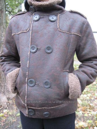 деми-дубленка  authorized freaky service и теплое пальто NEXT  на 9-11 лет