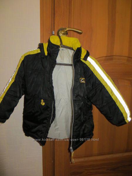 Деми- куртка 104-110р , ТМ adams kids