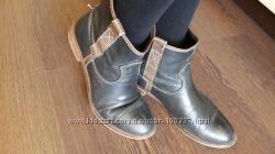 Распродажа деми-обуви кожа - ботики, сапожки , р. 36-38