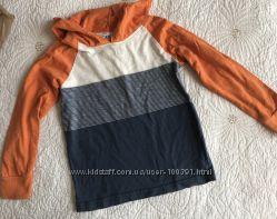Рубашка, футболки, свитер, шорты H&M на 4-6 лет