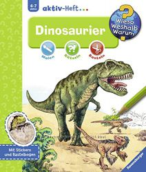 Журнал Динозавры на немецком