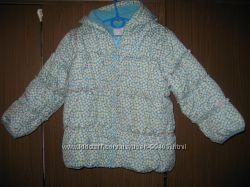 Куртка деми NEXT бирюзовая размер 4-5 рост 104-110