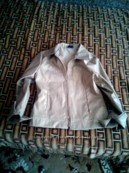 курточка зотого цвета размер М