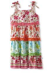 Продам новые летние платьица из Америки. Хлопок. Размеры 3-6 лет