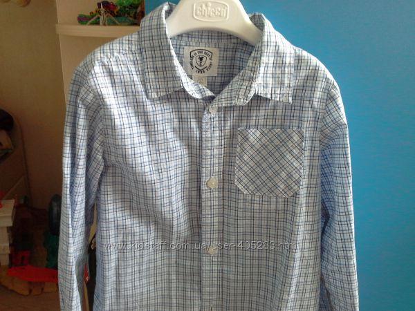 Рубашка Chicco на маленького модника, на 5 лет