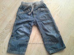 джинсики-бриджи Next на рост 92см