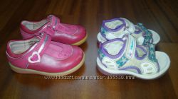 Босоножки CLARKS и ботиночки START RITE, стелька 13 см.
