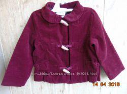 Вельветовая курточка ветровка  Crazy8  2Т
