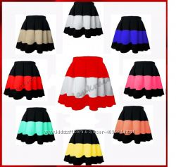 Хит юбка полоска комбинация 9 цветов
