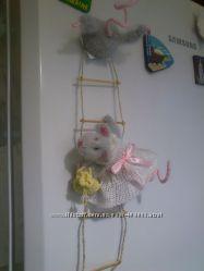 Магнит на холодильник Мышки-воришки и другие идеи
