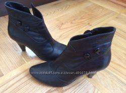 Осенние ботинки - натуральная кожа