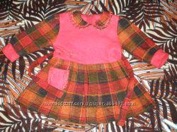 Теплое платье для красавицы