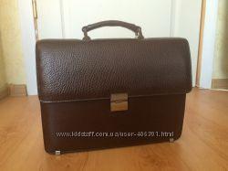 Новая Мужская сумка портфель - кожа