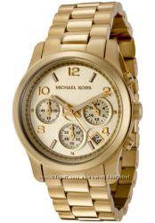 Часы Michael Kors Midsized Chronograph Gold-tone МК5055 оригинал в наличии