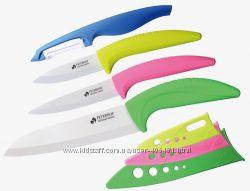 Керамические ножи, подарочная упаковка Peterhof