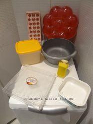Разные хозяйственные ёмкости. Коробки, миски, лоточки, тарелка для Пасхи
