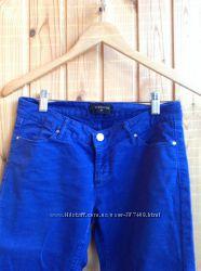 Яркие синие брючки Reserved размер 34