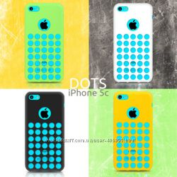 Чехол для iPhone 5c Dots