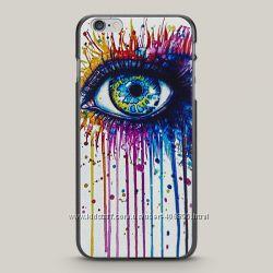 Чехол для iPhone 6 Plus и 6s Plus Painted Eye