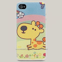 Чехол для iPhone 4 и 4s Giraffe