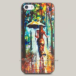 Чехол для iPhone 5 и 5s Colorful Rain