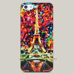 Чехол для iPhone 5 и 5s Eiffel Tower