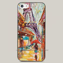 Чехол для iPhone 5 и 5s Painting Paris