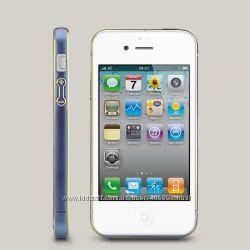 Бампер для iPhone 4 и 4s Ice