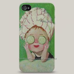 Чехол для iPhone 4 и 4s Cucumber Mask